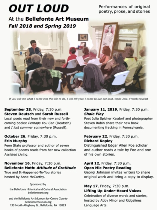 Out Loud!: Bellefonte Historical and Cultural Association BHCA